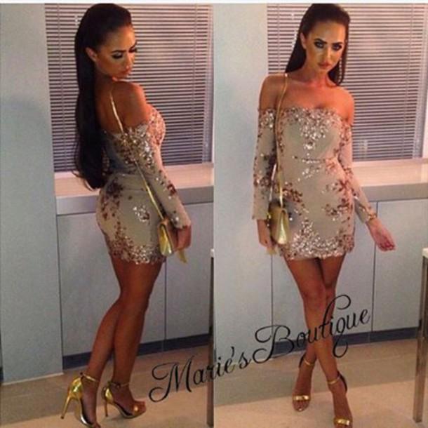 e4b1292a846 dress maries boutique sequin dress romper romper jumpsuit off the shoulder  dress nye dress christmas