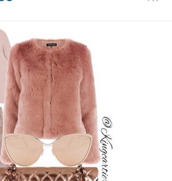 skirt faux fur fur style