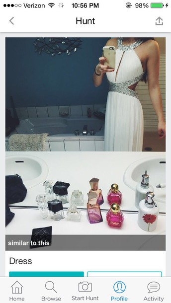 dress prom dress prom gown prom dress white dress halter top halter neck dress sequin dress