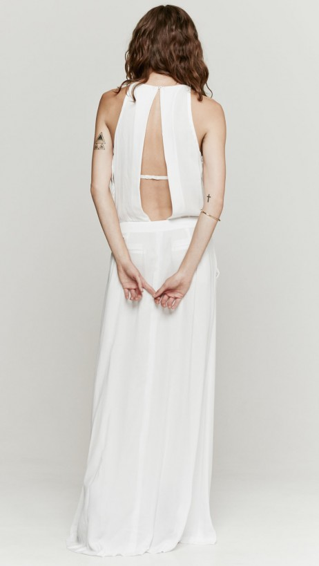 A.L.C. Rolston Dress In White | The Dreslyn