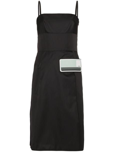 Prada dress strappy dress strappy women black