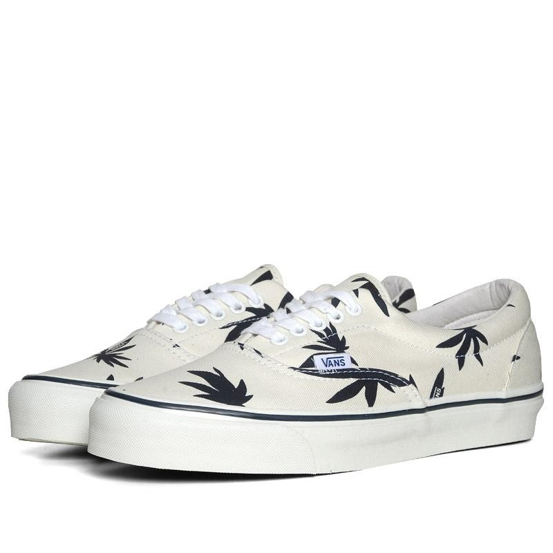 Vans Vault OG Era LX Palm Leaf (White & Navy)