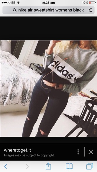 top adidas jeans