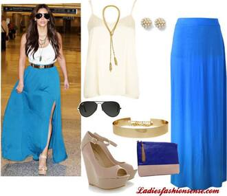 belt mirrorbelt gold belt kim kardashian mirror belt kim kardashian style blue maxi blue pouch clutch cobalt clutch two tone clutch gold chain belt kim kardashian aviator sunglasses gold