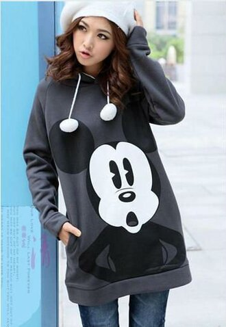 sweater mickey mouse sweat
