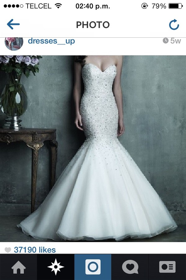 dress white dress wedding dress mermaid prom dress lace wedding dress