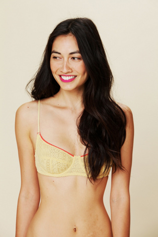 intimately free people womens cheeky lace bra