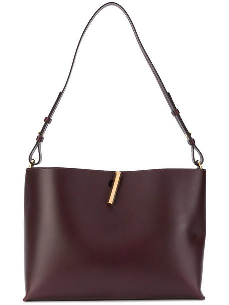 Sophie Hulme women bag shoulder bag leather red