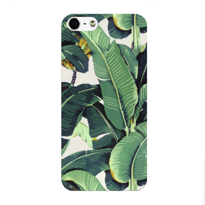 Banana leaves iphone case