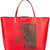 Givenchy - Bambi print tote - women - Cotton/Acetate - One Size, Red, Cotton/Acetate