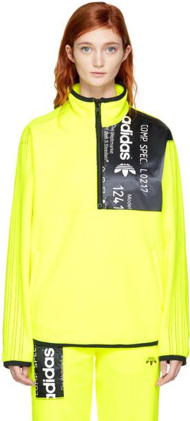 ADIDAS ORIGINALS BY ALEXANDER WANG jacket zip yellow