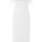 Cotton ottoman dress in ivory by zac posen - moda operandi