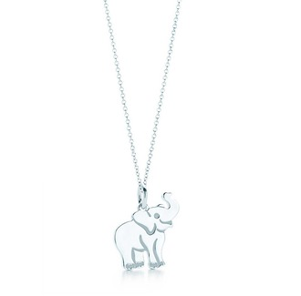 jewels necklace charm elephant tiffany