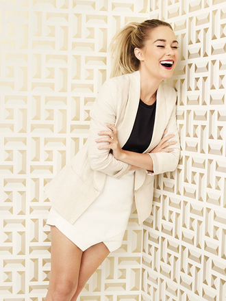 skirt lauren conrad jacket