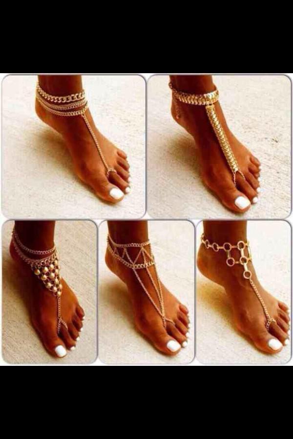 jewels foot jewelry