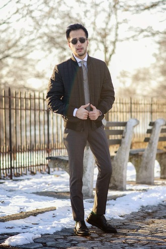 the metro man blogger mens jacket winter jacket quilted mens pants