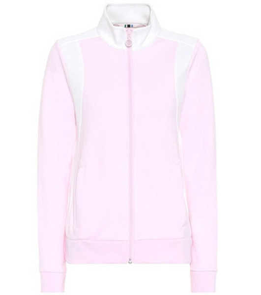 Tory Sport Cotton-blend jacket in pink