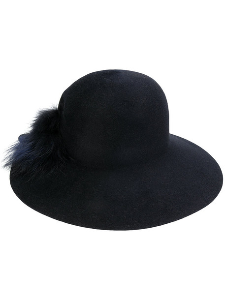 Inverni fur women hat blue