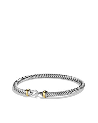 David Yurman Cable Buckle Bracelet - Neiman Marcus