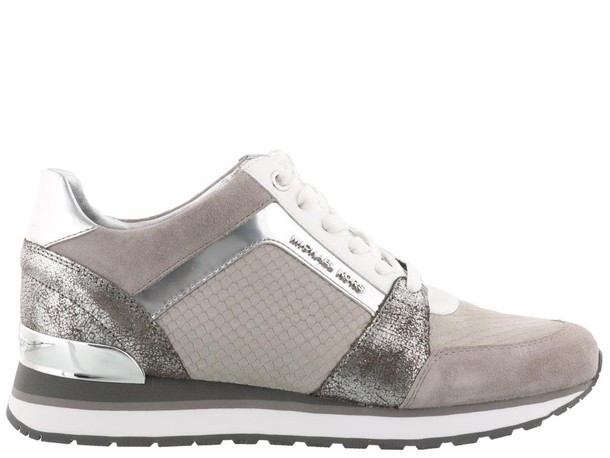 pearl silver grey shoes