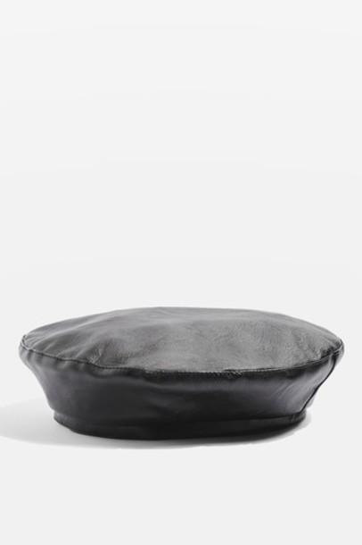 Topshop beret black hat