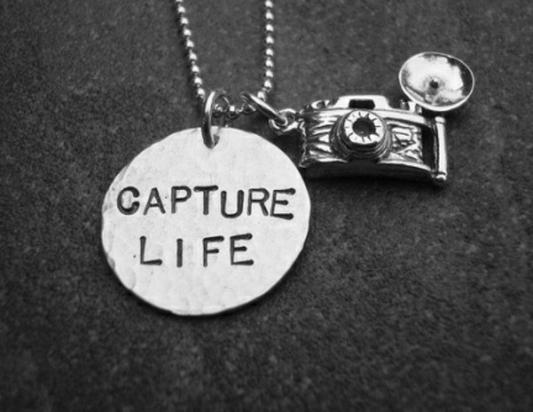 jewels necklace camera necklace capture life camera photography