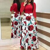 dress,plus size,boho dress,bodycon dress,maxi dress,red dress,plus size dress,floral maxi dress,long sleeve dress,beautiful red dress,long boho dress