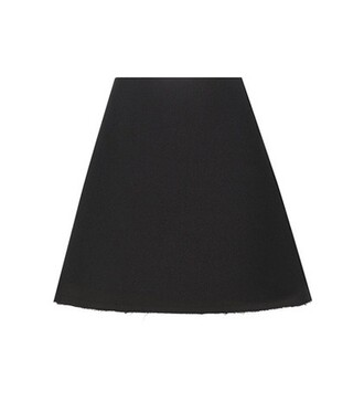 skirt wool black