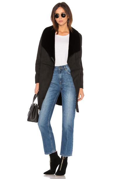 BB Dakota coat black
