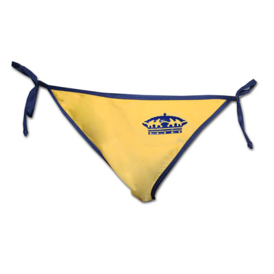 2a745ee0bd0a3 Corona Extra Side Thin Tie Yellow Bottom Lycra Bikini ...