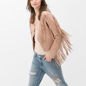 jacket,fringes,2014 fall,ootd jacket,zara,zara jacket,www.zara.com,fringed jacket,fringe cardigan,suede,suede jacket,boho,boho chic,boho jacket,fall outfits,fall jacket,fall trend,fall season,fab,tan,street style 2014,streetstyle,trendy,trending fashion,2014 fashion,ootd,bohemian,hippie