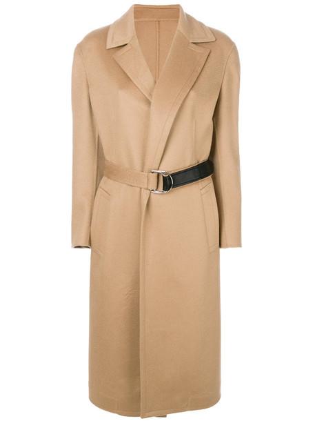 CALVIN KLEIN 205W39NYC coat women nude wool