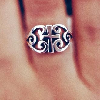 jewels ring cross