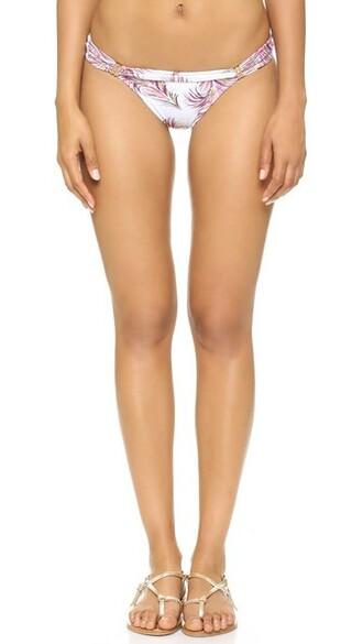 bikini bikini bottoms white swimwear