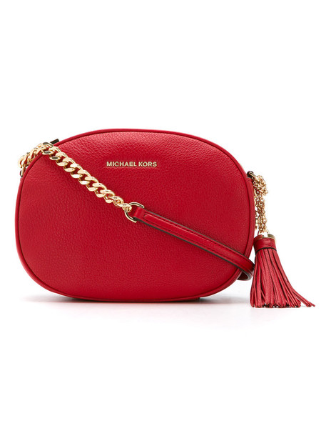 MICHAEL Michael Kors women bag crossbody bag leather red