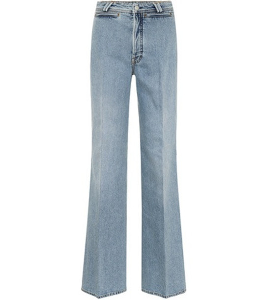 Acne Studios Tiffan flared jeans in blue
