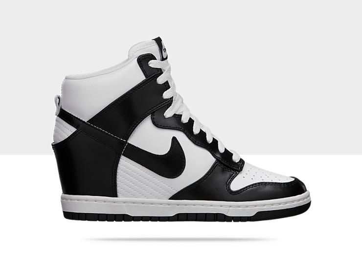 nike sky hi dunk black