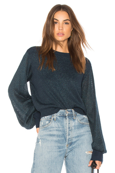 Free People sweater pullover blue