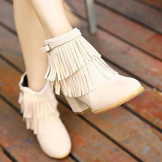 shoes boot sweet zip high heel