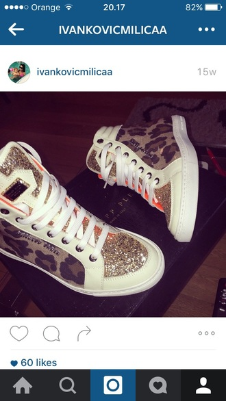 shoes sneakers leopard print kylie jenner high top sneakers
