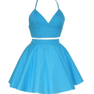 dress styleiconscloset turquoise matching set