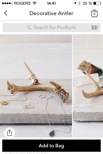home accessory decorative antler
