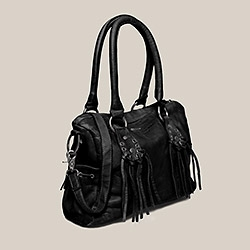 Sac en cuir IKKS (BC95029) | Vêtement Femme Hiver 13