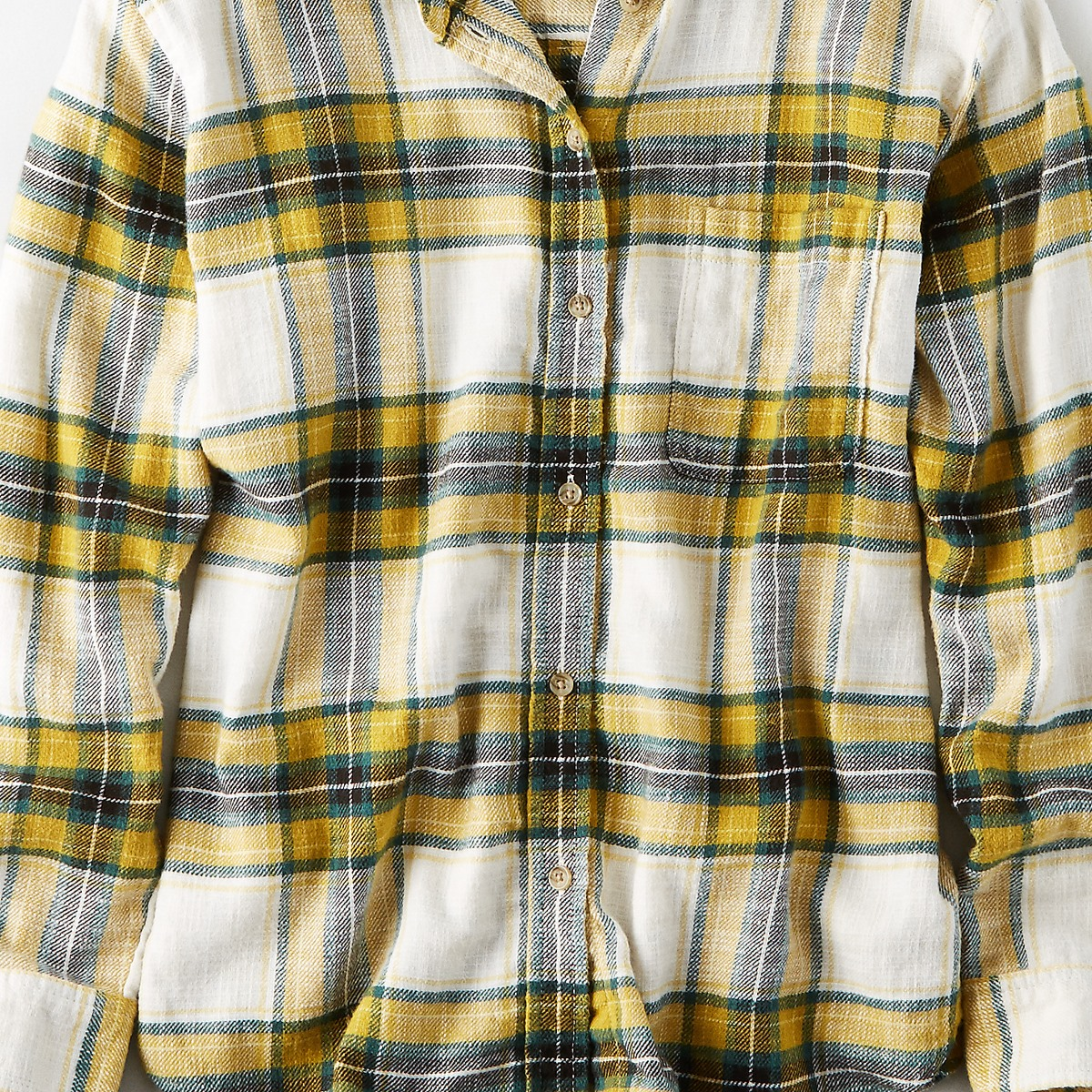 AEO Ahh-Mazingly Soft Boyfriend Plaid Shirt
