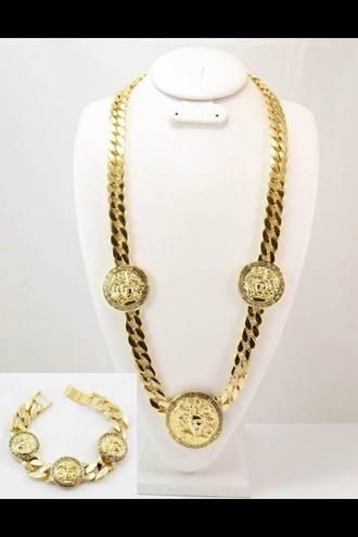 jewels gold chain necklace frantic jewelry the wanted