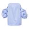 Cotton striped off the shoulder tulum top by johanna ortiz | moda operandi