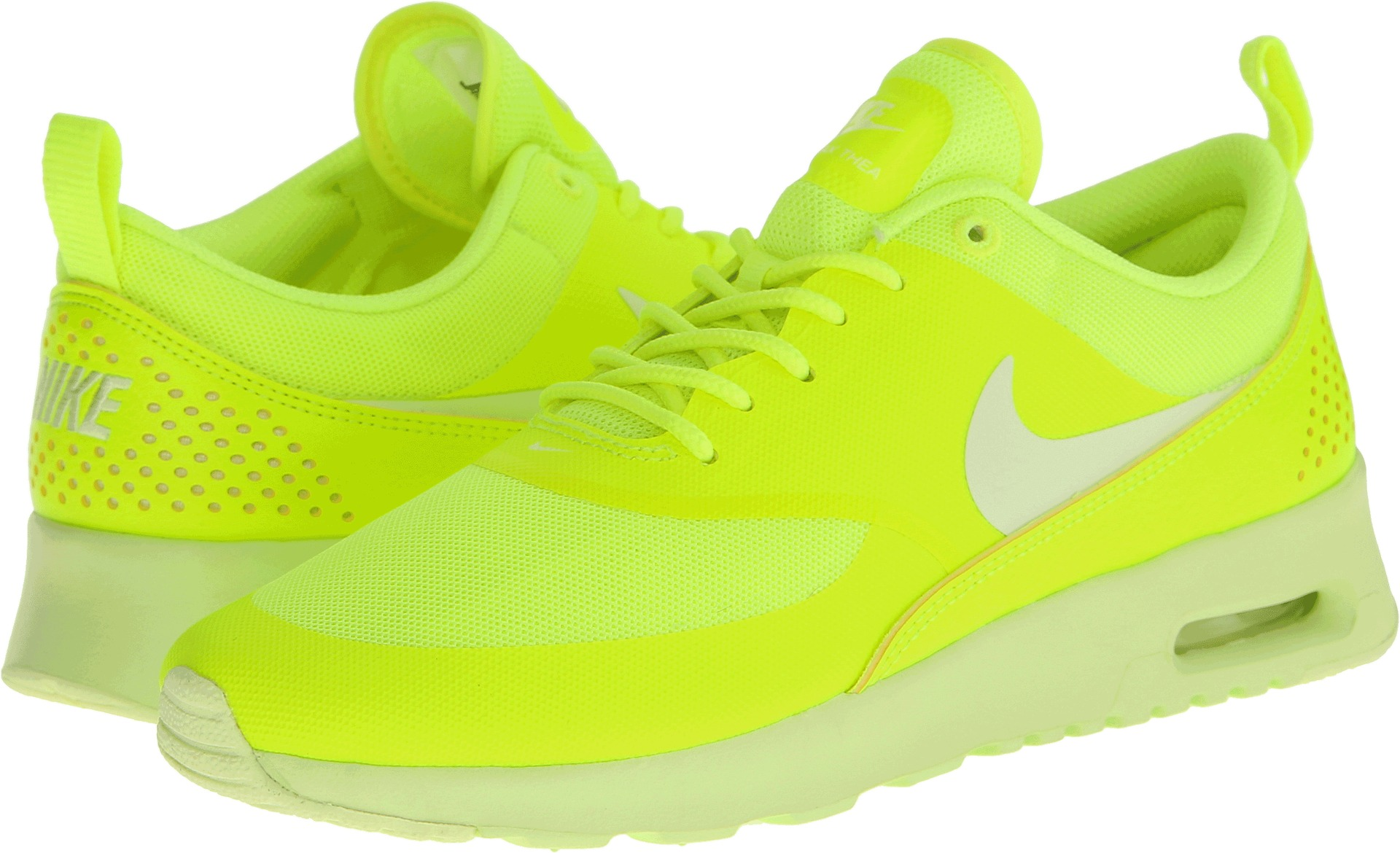huge discount 236ac 918b6 Nike Air Max Thea VoltLight Liquid Lime - Zappos.com Free Sh