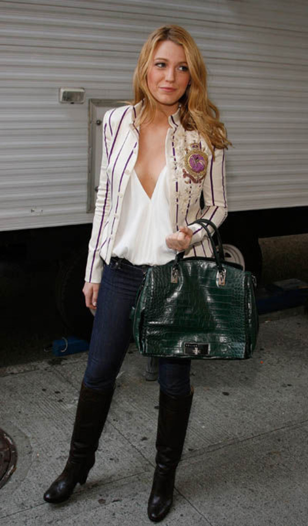 shirt white gossip girl coat jeans jacket