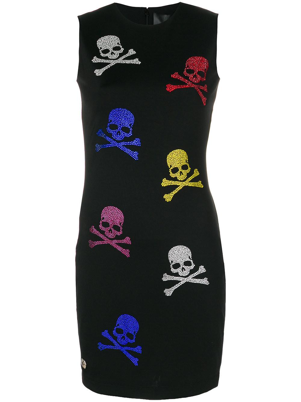 Платье С Черепами Купить
