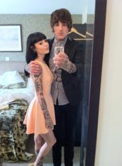 dress,peach dress,skater dress,hannah pixie snowdon